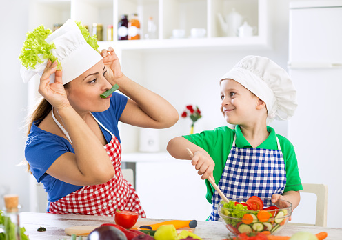 get your kids cooking
