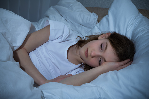 child trouble sleeping after a divorce