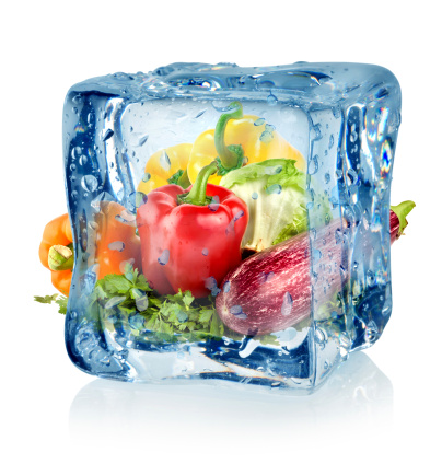 fresh vs. frozen produce